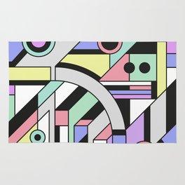 De Stijl Abstract Geometric Artwork Rug