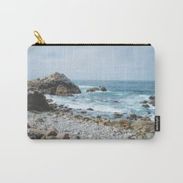 The Restless Sea - Californian Coast Carry-All Pouch
