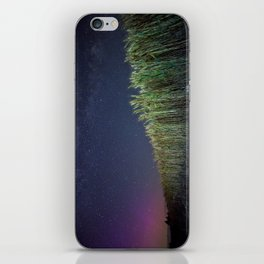 Wheat Field Planetarium iPhone Skin