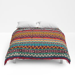 African pattern No4 Comforters