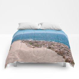 Heavenly Hike On Cap Ferrat Comforters