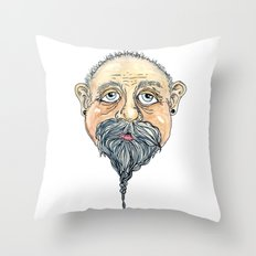 old man 2 Throw Pillow