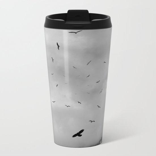 Sacred Flight Metal Travel Mug