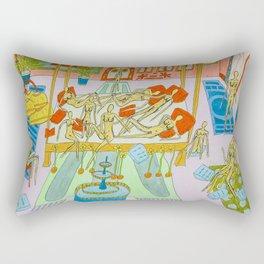 In my bedroom Rectangular Pillow