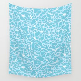 Pool Water Sparkles Wall Tapestry