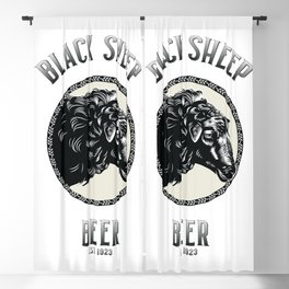 Black Sheep Beer Blackout Curtain