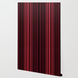 Red 3D Stripes Wallpaper