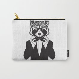 Fancy Raccoon Carry-All Pouch