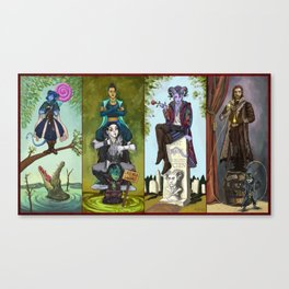 The Haunted Nein Canvas Print