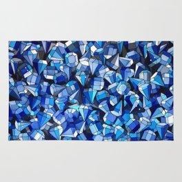 Fond Bleu Rug
