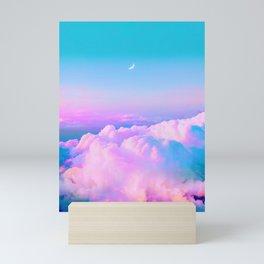 Bubblegum Sky Mini Art Print