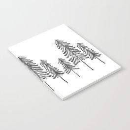 Pine Trees – Black Ink Notebook