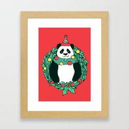 Beary Christmas Framed Art Print