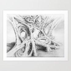 Driade 3 Art Print