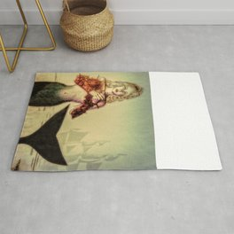 The Lonely Mermaid Rug