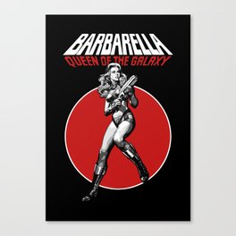 Barbarella - Queen of the Galaxy Canvas Print
