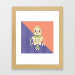 Rob-Bot02 Framed Art Print