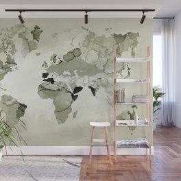Design 123 World Map Wall Mural