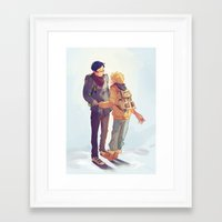 viria Framed Art Prints featuring reigisa by viria