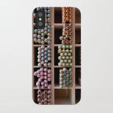 Coloured pencils Slim Case iPhone X