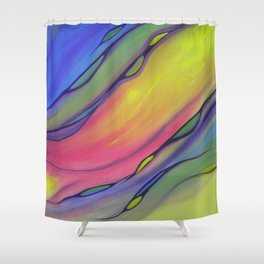 Native American Flutes I Shower Curtain
