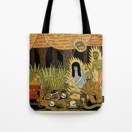 The Woodland Ghosts Tote Bag
