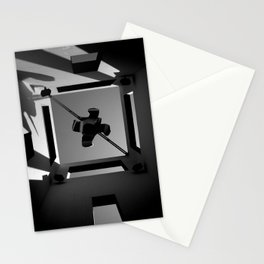 Shadows and Squares Stationery Cards