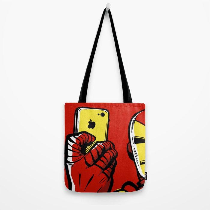 Stark #Selfie Tote Bag
