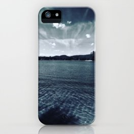 Lake Sokokis 2016  iPhone Case