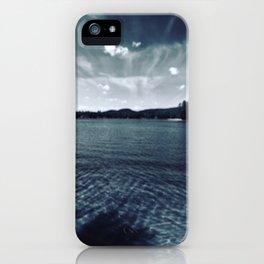 Lake Sokokis 2016  iPhone Case