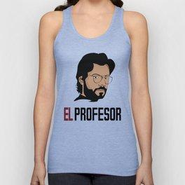 LA CASA DE PAPEL tee shirt El Profesor Unisex Tank Top