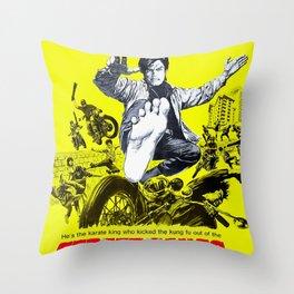 Street Gangs of Hong Kong Throw Pillow