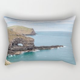 Akaroa Scenic Head, New Zealand Rectangular Pillow