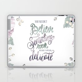 YOU NEEDN'T BELIEVE Laptop & iPad Skin