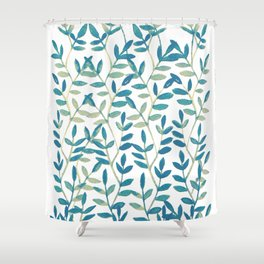Leaves 6 Shower Curtain