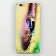 Vivid Abstract Feather iPhone & iPod Skin