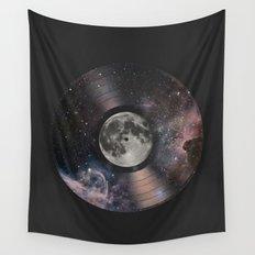 L.P. (Lunar Phonograph) Wall Tapestry