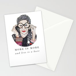 Iris Apfel Illustration Stationery Cards