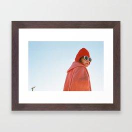 Desert Woman. Framed Art Print
