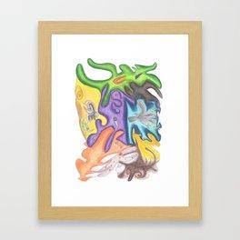 Drawing #107 Framed Art Print