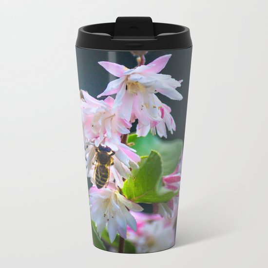 Scent of Spring Metal Travel Mug