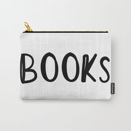 Books Books Books Books Carry-All Pouch
