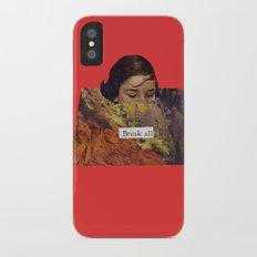Break All Slim Case iPhone X