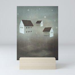 the architecture of dreams Mini Art Print