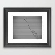 Camouflage For Hunting Framed Art Print