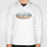 oregon Hoodies featuring Oregon Wilderness Horses by Kevin Russ