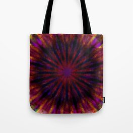 Dark tie dye Tote Bag