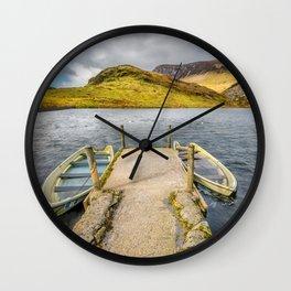 Sunken Boats Wall Clock