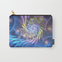 fractal: spiralling soul Carry-All Pouch