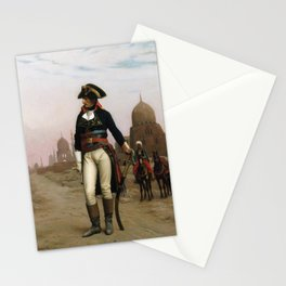 Jean-Leon Gerome - Napoleon in Egypt Stationery Cards